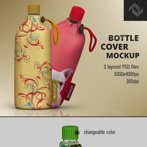 Bottle Cover Mockup