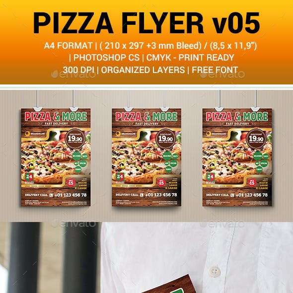 Pizza and More Flyer v05