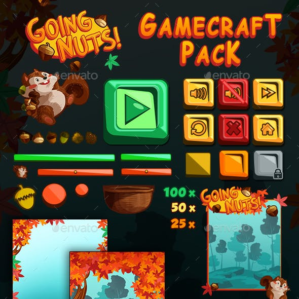Going Nuts Game Assets