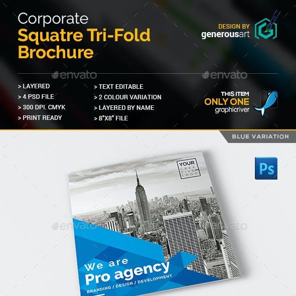 Corporate Square Tri-Fold