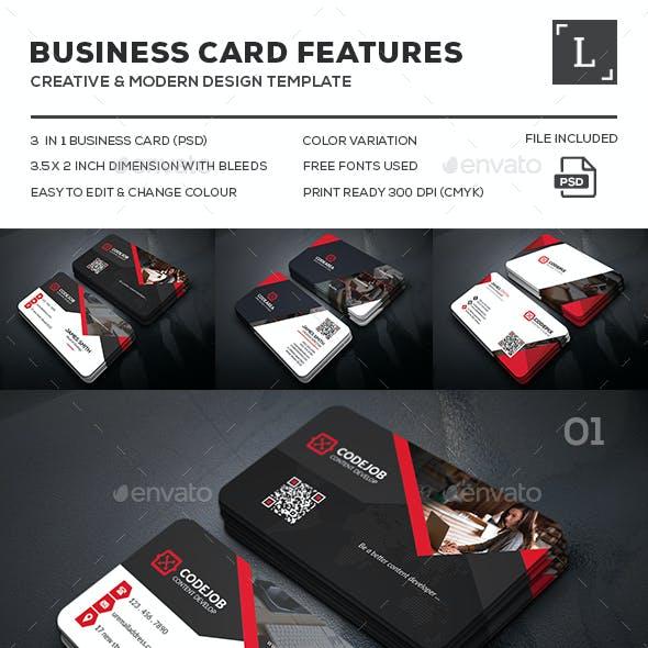 Corporate Business Card Bundle