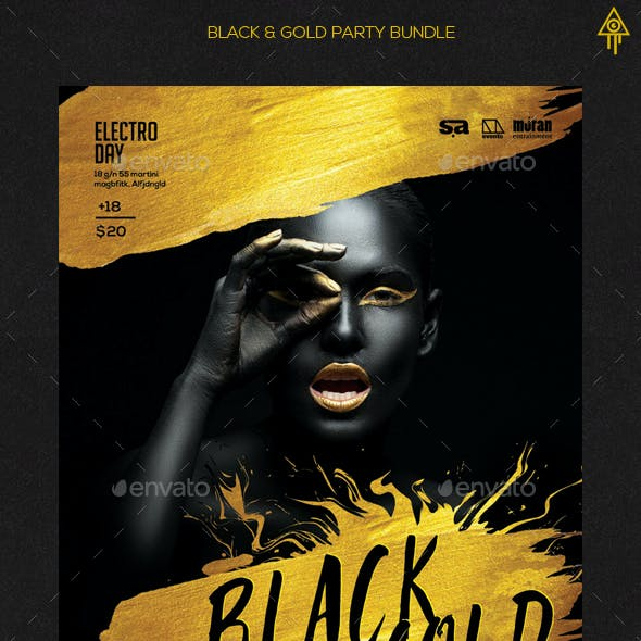 Bundle of Black and Gold Flyer