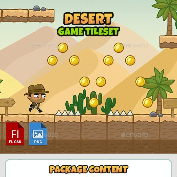 Game Tileset Graphics, Designs & Templates from GraphicRiver