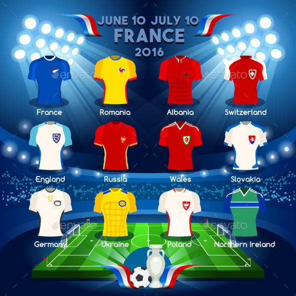Qualified Teams Euro 2016