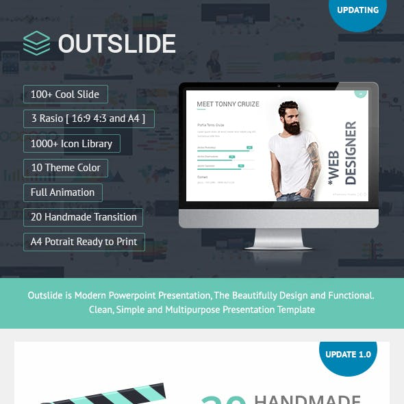 OUTSLIDE - Presentation Template