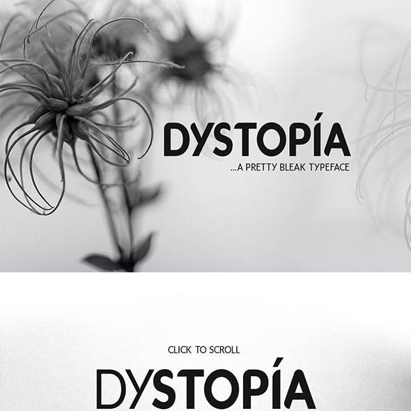Dystopia Typeface