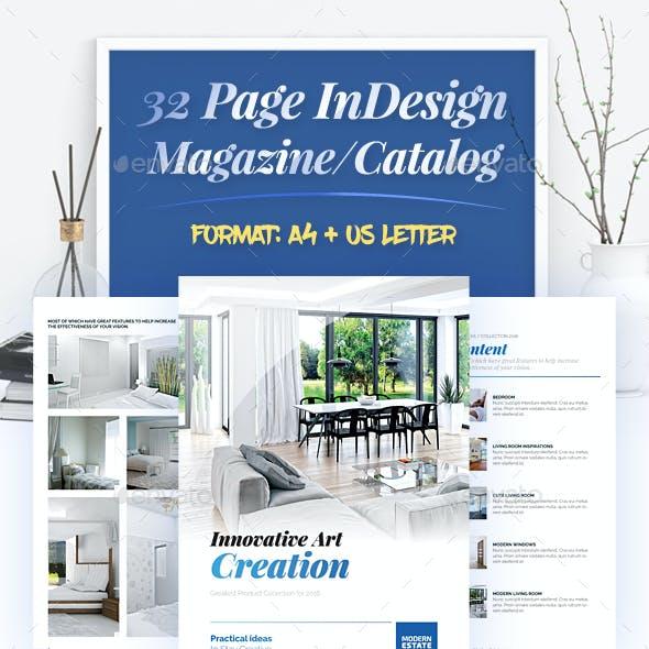 Clean Magazine / Catalog Template