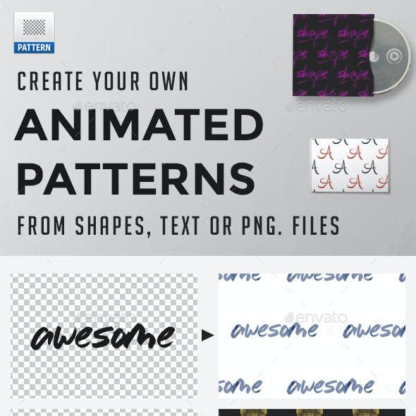 Animated Patterns Creation Kit