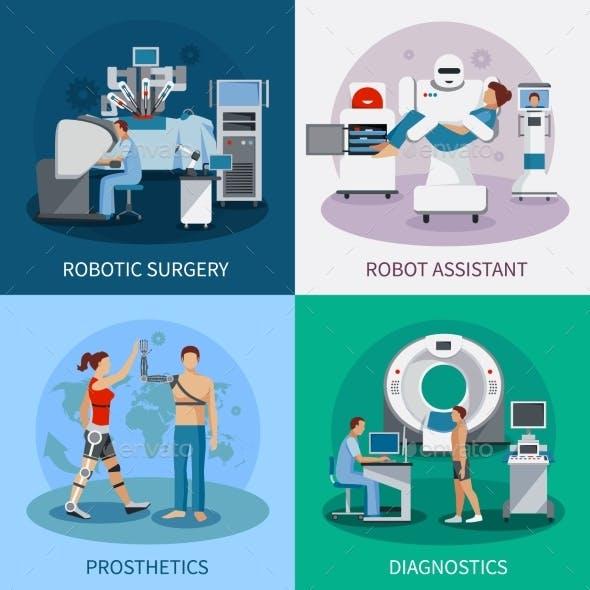 Bionic 2X2 Design Concept with Robotic Equipment