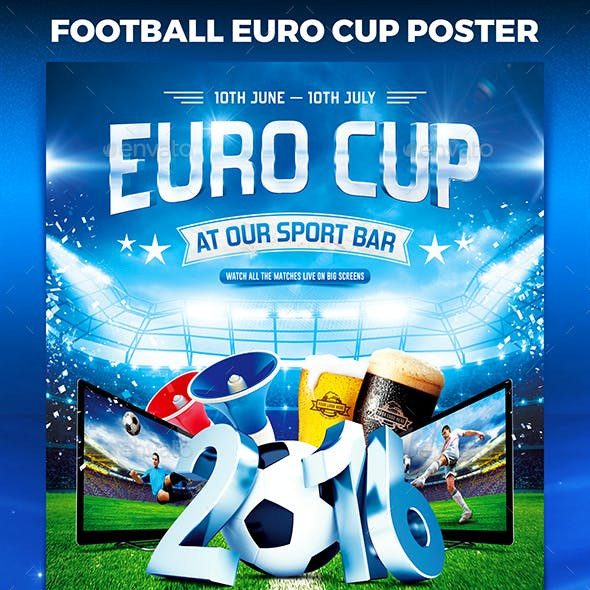 Football Euro Cup Poster vol.1