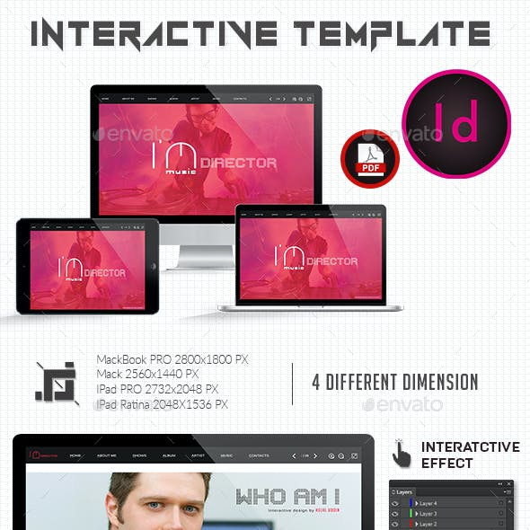 Interactive Musical Template