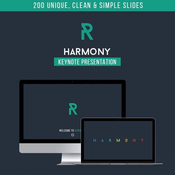 Harmony - Multipurpose Keynote Template
