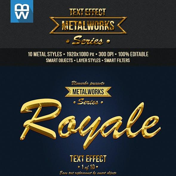 Metalworks - Metallic Text Effects