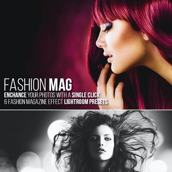 6 Fashion Magazine Lightroom Presets