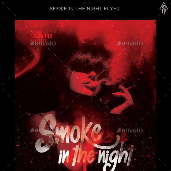 Smoke In The Night Flyer