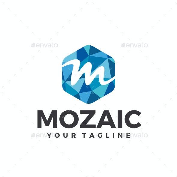 Mozaic - Letter M Logo