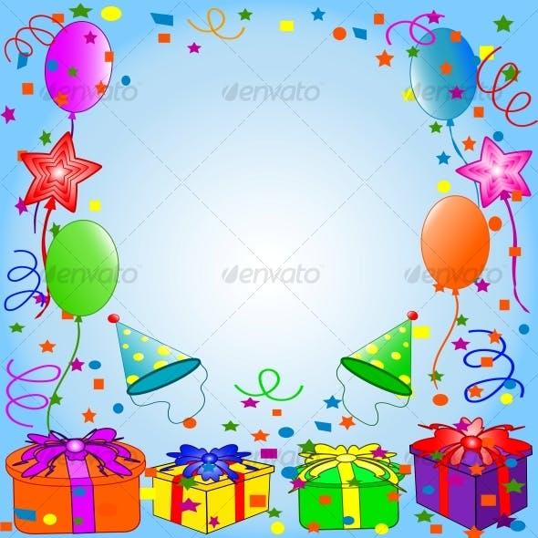 Happy Birthday Background By Trinochka