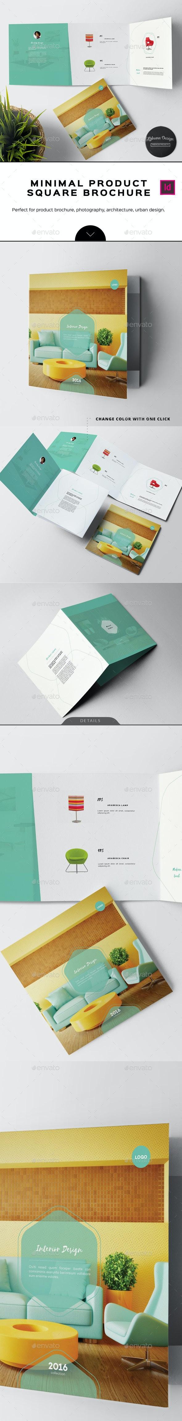 Minimal Product Brochure - Informational Brochures