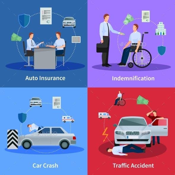 Auto Insurance Concept