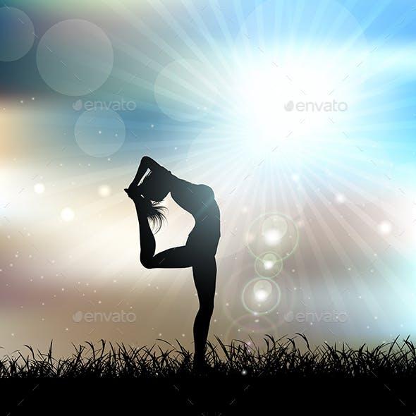 Female Yoga Landscape