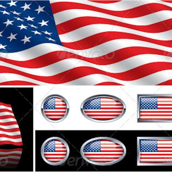 American (USA) Flag Collection