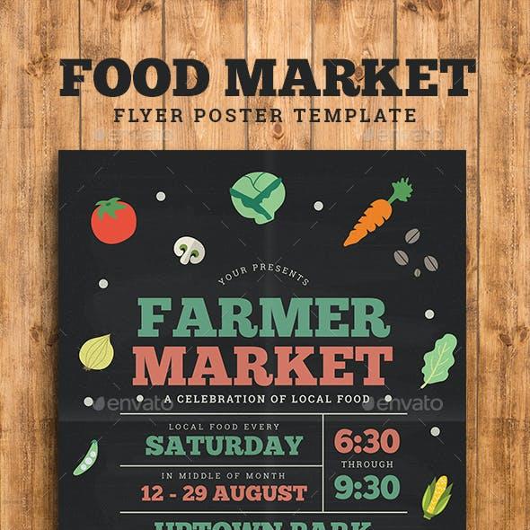 Farmer/Food Market Flyer