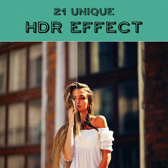 21 HDR Photoshop Action
