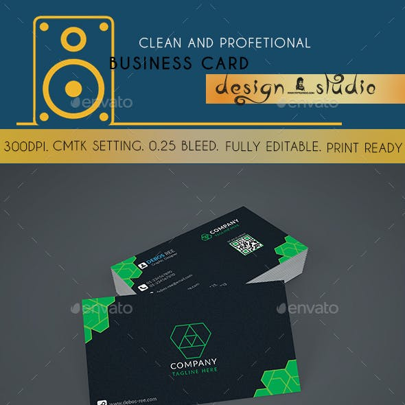 Modern and Classical Business Card