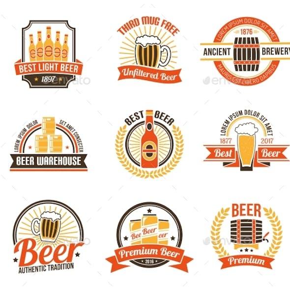 Brewery Logo Set