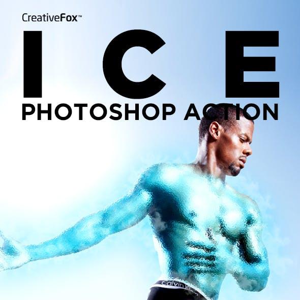 Ice Photoshop Action - Ice Effect Creator