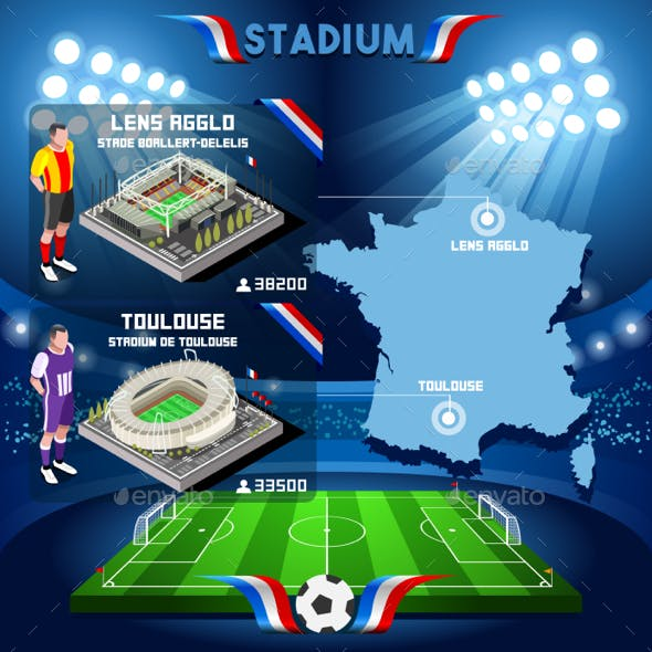 Lens Agglo Toulouse Soccer Stadium