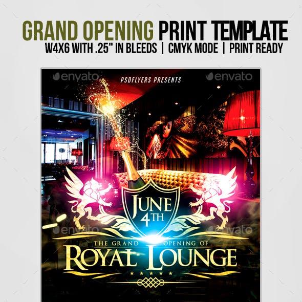 Royal Grand Opening