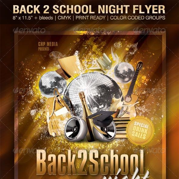 Back2School Night Flyer Template