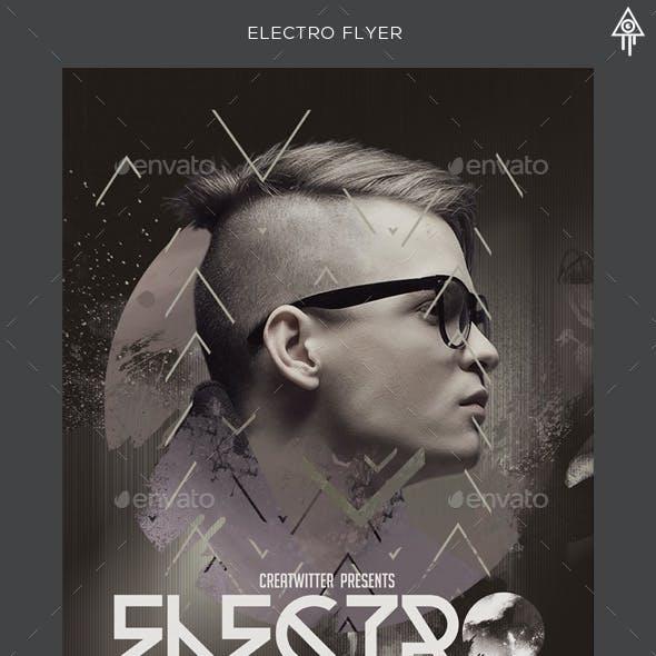 Electro Dj Flyer