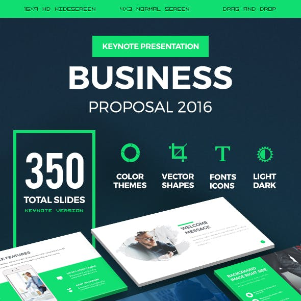 Business Proposal 2016 Keynote Presentation Template