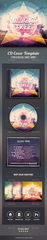 Magic Tree CD Cover Artwork - CD & DVD Artwork Print Templates