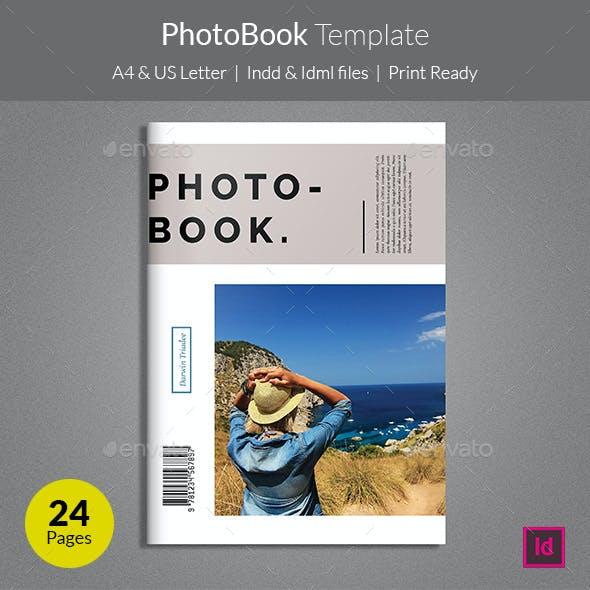 PhotoBook Template