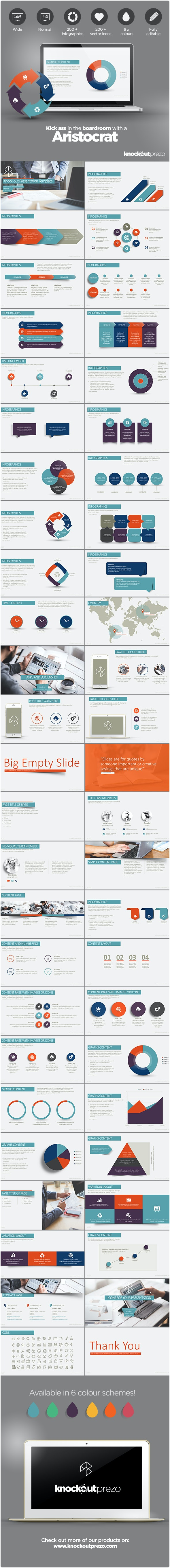Aristocrat PowerPoint Template - Business PowerPoint Templates