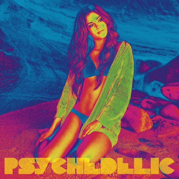 Psychedelic Photoshop Action