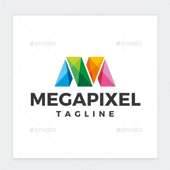 Megapixel - Letter M Logo