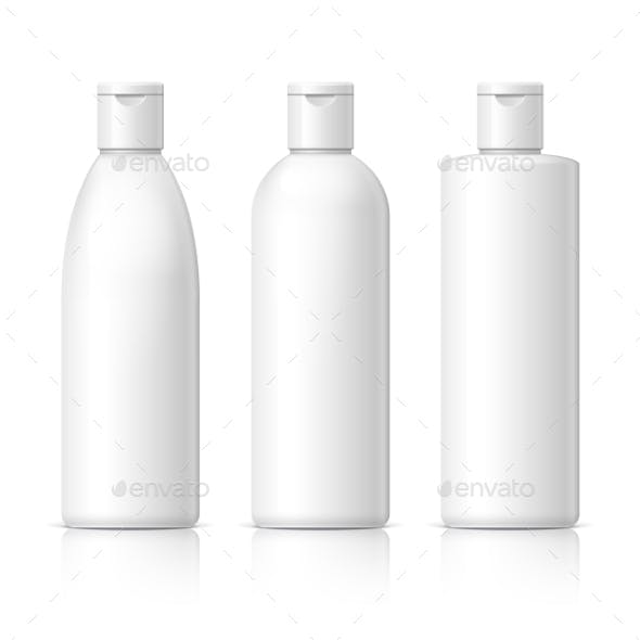 Realistic Cosmetic Bottle Can Sprayer Container