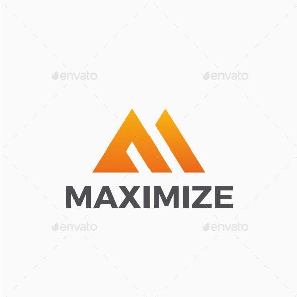 Maximize - Letter M Logo