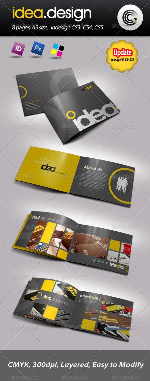 Idea Design Booklet - Corporate Brochures