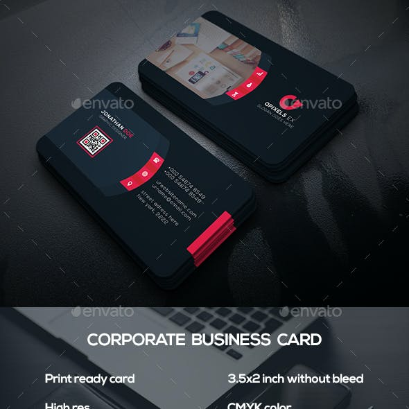 Corporate Business Card v48