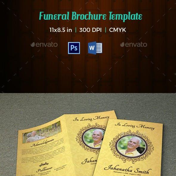 Funeral Program Template-V64