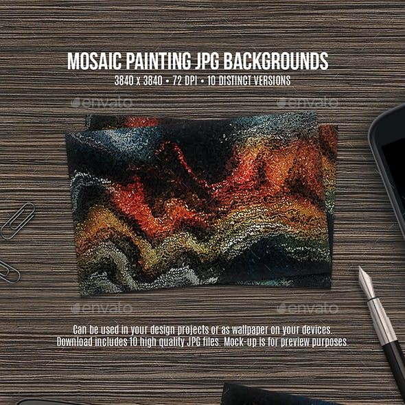 Mosaic Painting Backgrounds