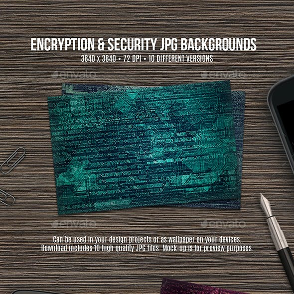 Encryption & Security Backgrounds