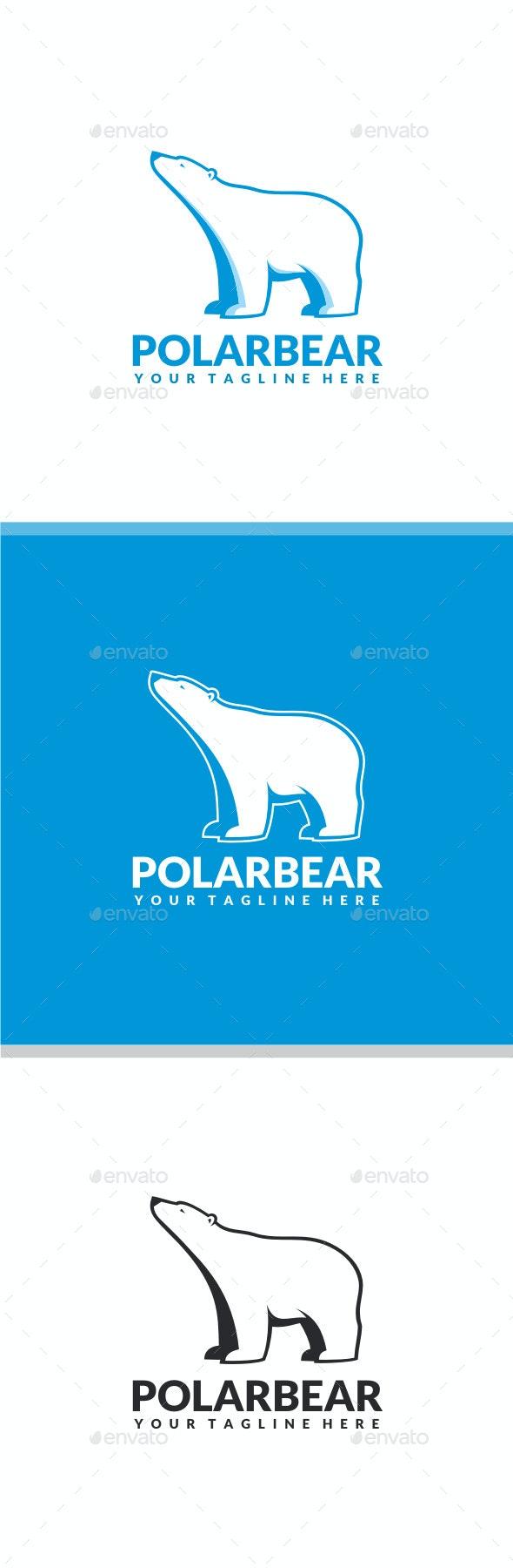 Polar Bear Logo - Animals Logo Templates