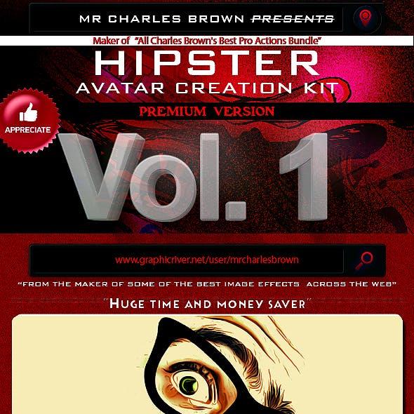 Hipster Avatar Creation Kit