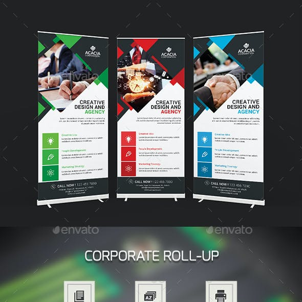 Simple Roll-Up Banners